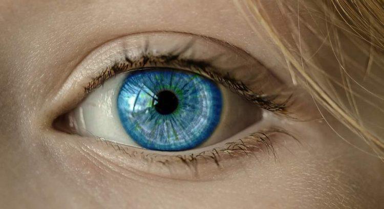 éles látásfolt